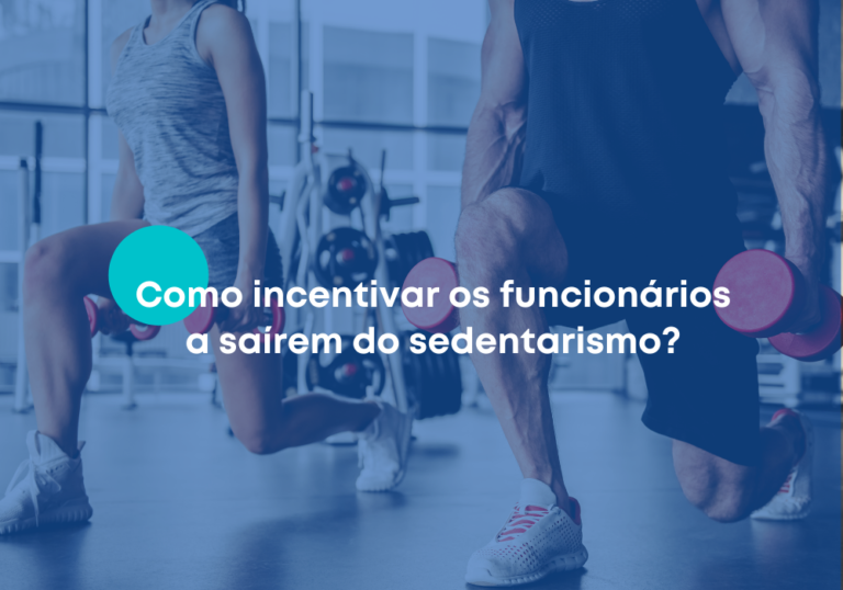 Como incentivar os funcionários a saírem do sedentarismo?